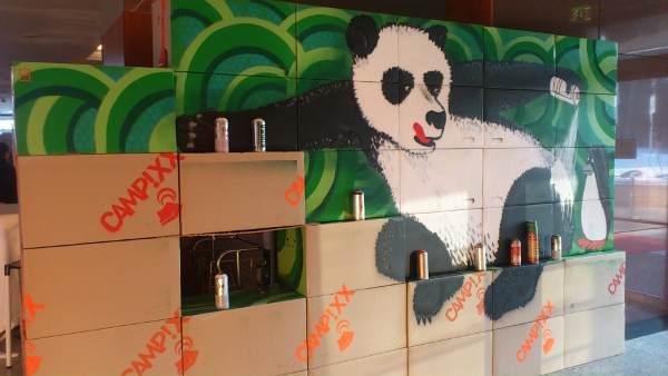 Panda bei der Campixx