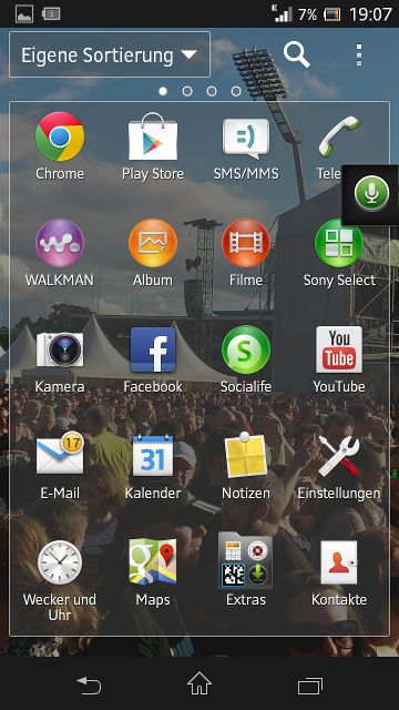 Xperia Screenshot Audiorecorder