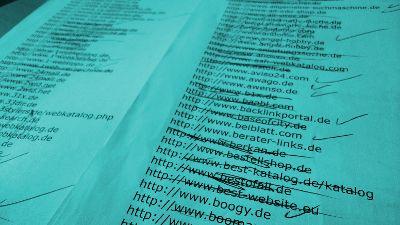 SEO Webkataloge