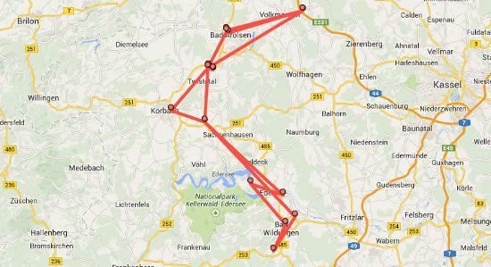 Standortverlauf bei Google Maps