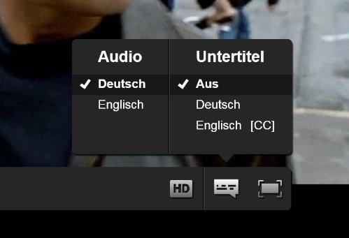 Netflix Filmoptionen
