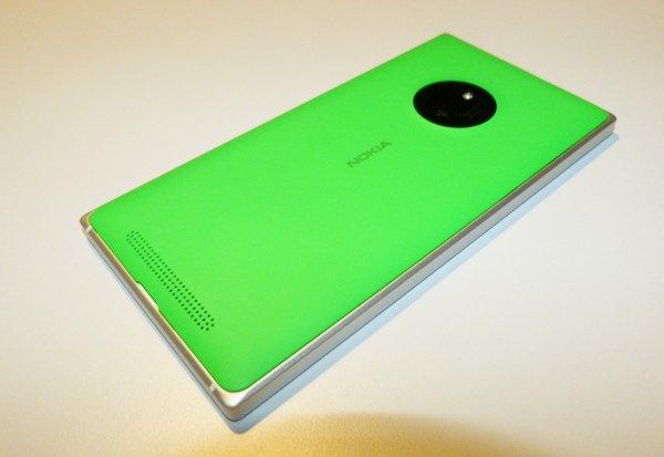 Lumia 830 Rückseite