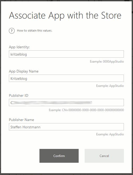 Windows App Store Association