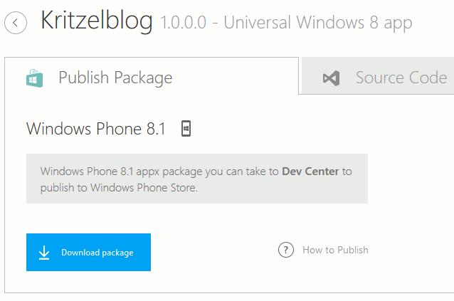 Windows App Studio Download