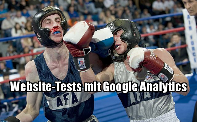 Website-Tests Google Analytics