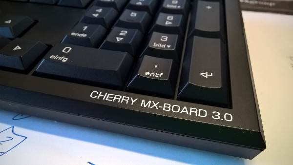 Mechanische Tastatur: Cherry MX-Board 3.0 Black