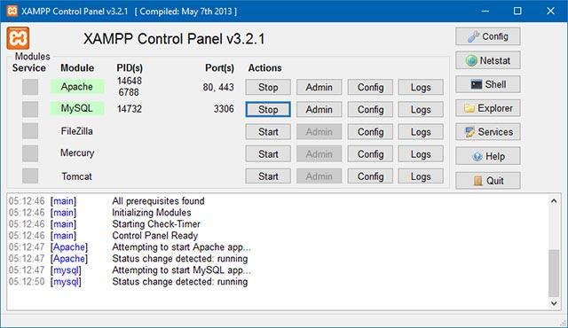 XAMPP - Der Webserver für Zuhause