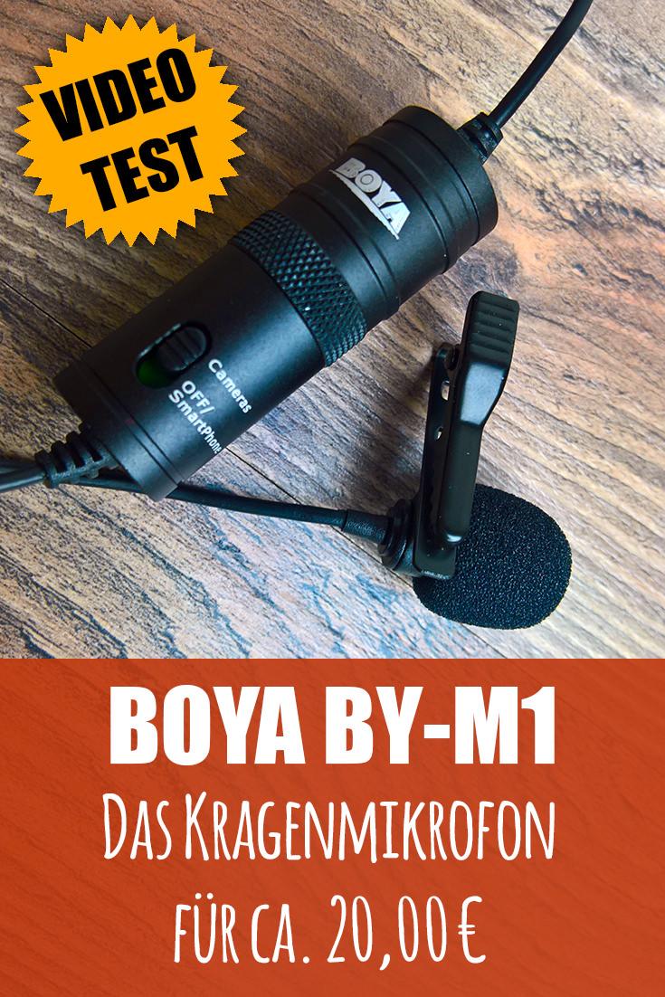 bOYA BY-MA Test Mikrofon