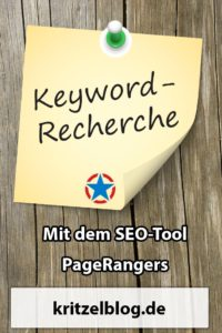 Keywordrecherche Pagerangers Pinterest