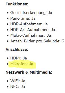 Otto.de Mikrofonanschluss