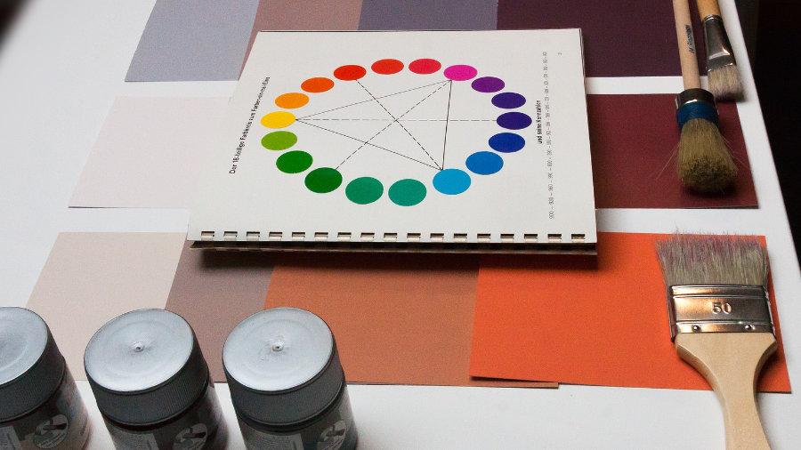 Farbkreis von Itten