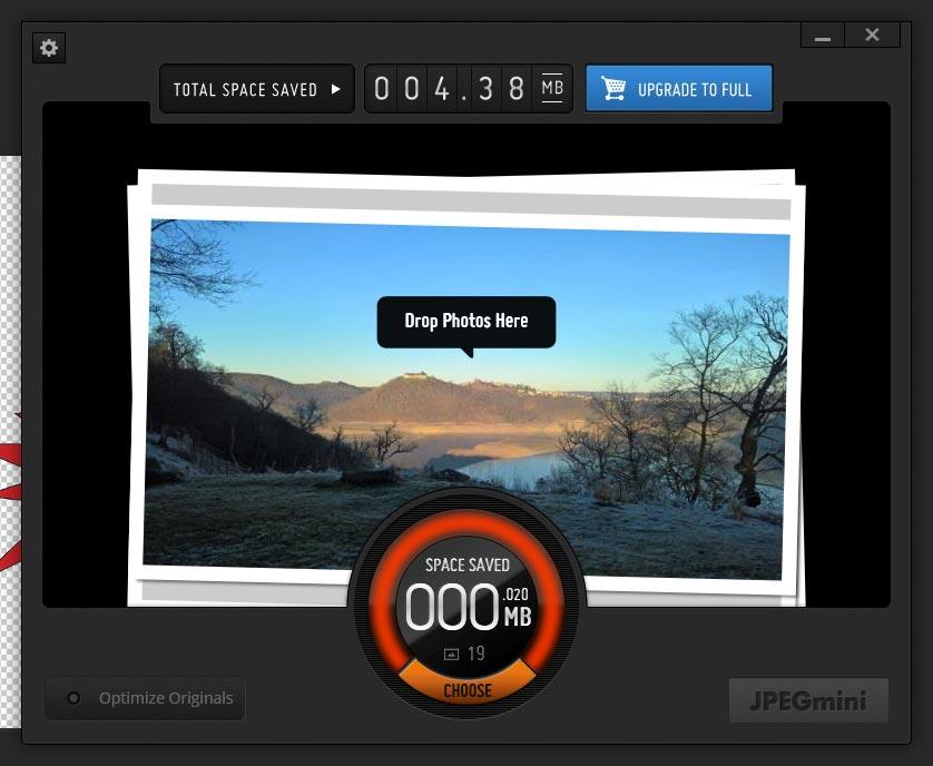 JPEGMini Screenshot