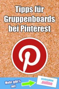 Gruppenboards bei Pinterest richtig nutzen