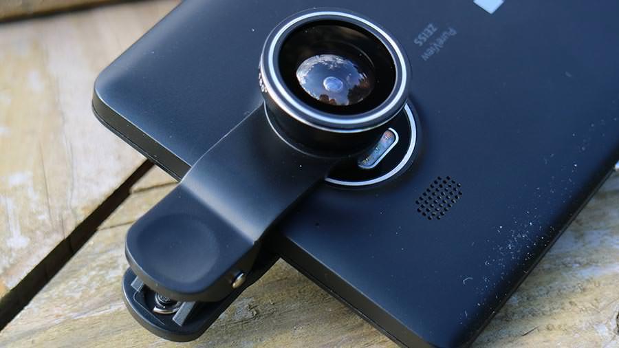 Smartphone Objektiv Klemmhalterung