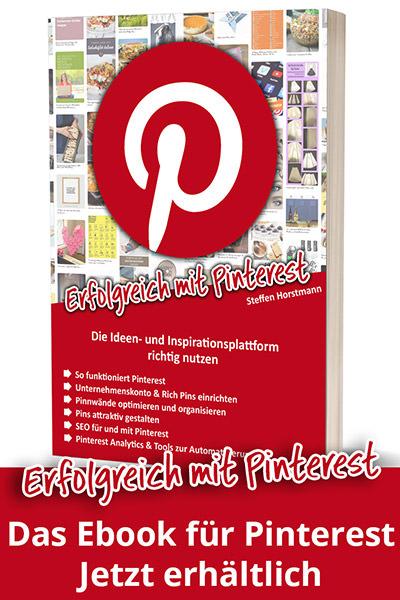 Ebook: Erfolgreich mit Pinterest
