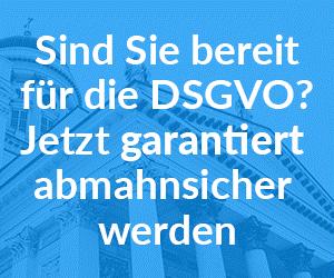 DSGVO Absicherung