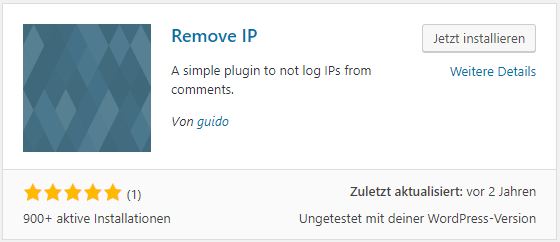 Remove IP Plugin