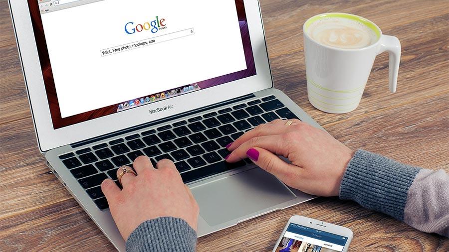 Notebook Google Suche