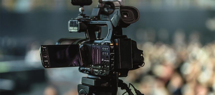 Profi Filmkamera