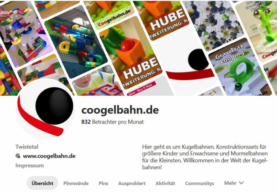 coogelbahn.de auf Pinterest