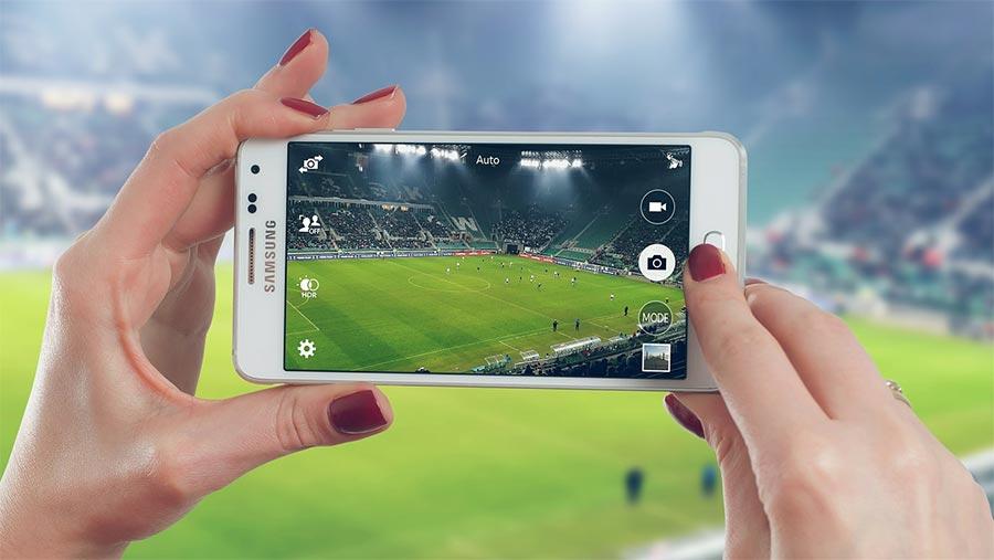 Smartphone zum Filmen