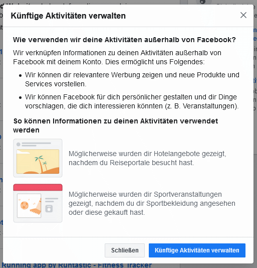 Facebook Pixel deaktivieren Schritt 4